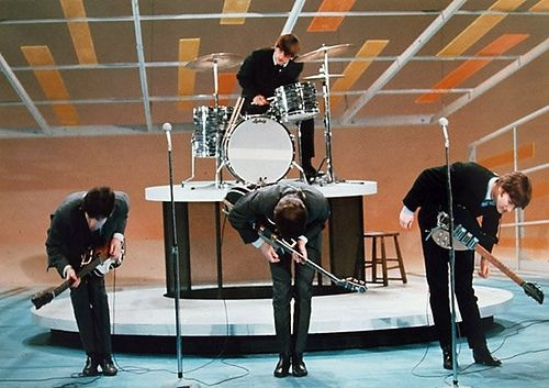 Image result for the beatles first appearance on the ed sullivan show in 1964