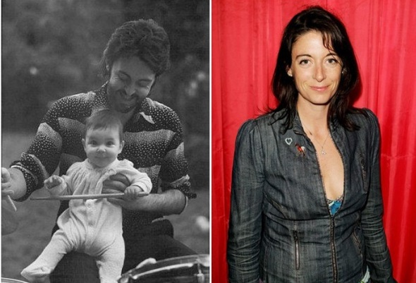 4 Mary Anna McCartney Born August 28 1969 With Linda