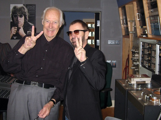 George Martin And Beatles Photo Gallery The Beatles