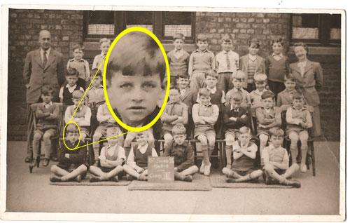 Bildresultat för Ringo Starr in school