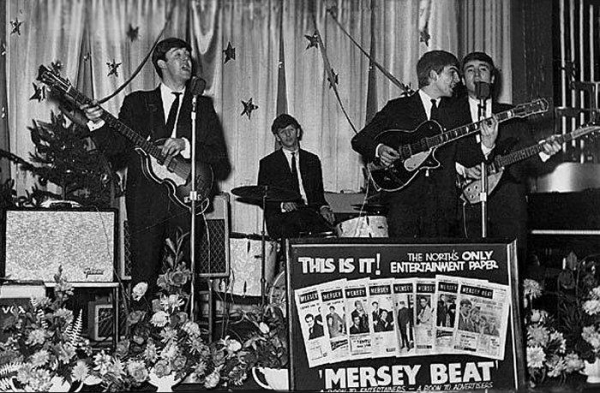 For the second year in a row, the Beatles were at the top of the Mersey Beat popularity poll. The group had won the poll the prior year with Pete Best on drums.