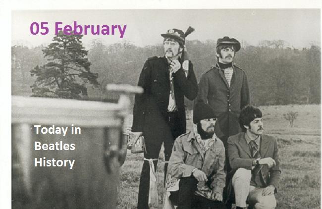 05 February Beatles Timeline