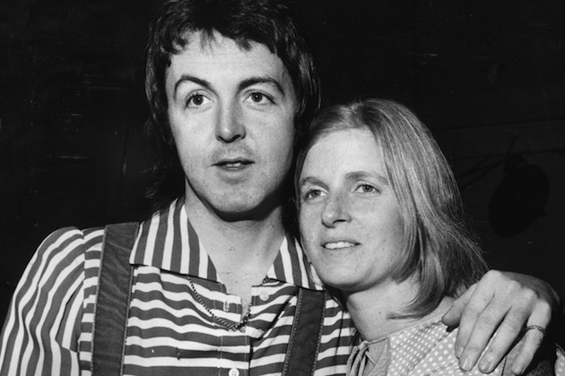 2nd December 1972 Paul McCartney And His Wife Linda 1941