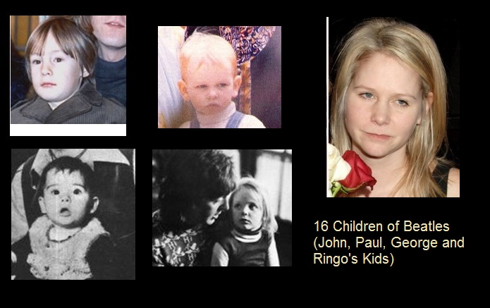 16 Children Of Beatles John Paul George And Ringos