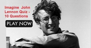 Imagine John Lennon Quiz - 10 Questions