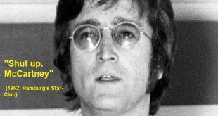 Shut up, McCartney (1962, Hamburg's Star-Club)