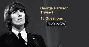 George Harrison Trivia -1
