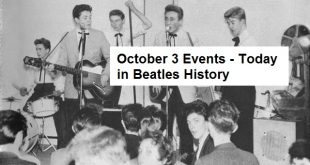 October 3 Events - Today in Beatles History