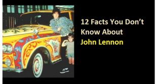12 Facts You Don't Know About John Lennon