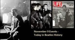 November 9 Events - Today in Beatles History