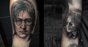 24 Amazing John Lennon Tattos part --1
