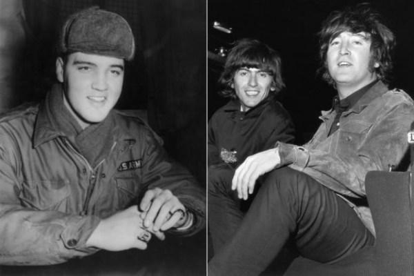 George Harrison Tells When Beatles Met With Elvis