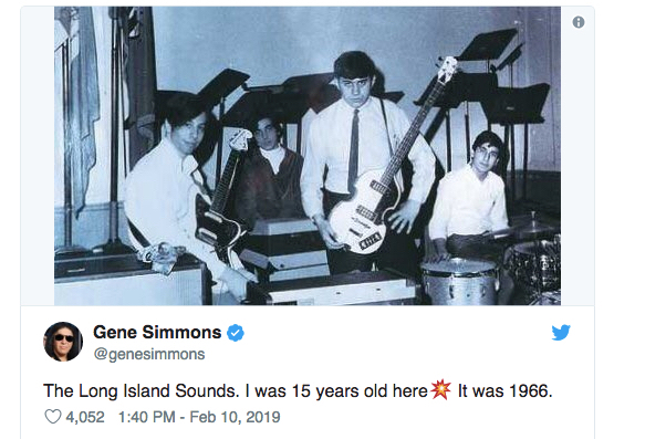 Gene Simmons' The Beatles Admiration – The Beatles